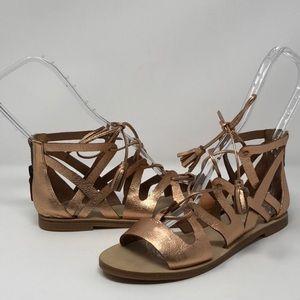 Ellie Tahari Tsunami gladiator sandals